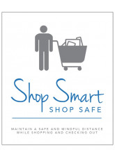 Shop Smart, Shop Safe - Maintain a Safe, Mindful Distance
