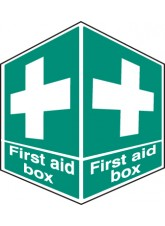 First Aid Box- Projecting Sign