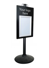Information Point with A4 Snap Frame
